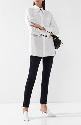 Женские джинсы с потертостями J BRAND синего цвета, арт. JB001734 | Фото 2
