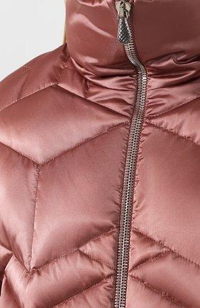 Стеганая куртка с воротником-стойкой | Фото №5