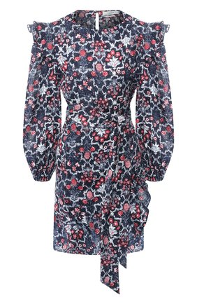 Льняное платье с принтом | Фото №1