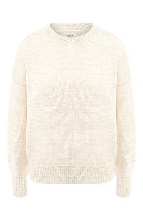 Пуловер из смеси шерсти и льна | Фото №1