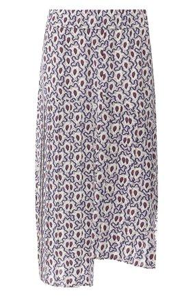 Шелковая юбка с принтом | Фото №1