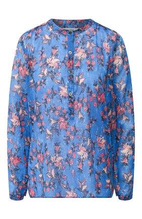 Хлопковая блузка с принтом | Фото №1