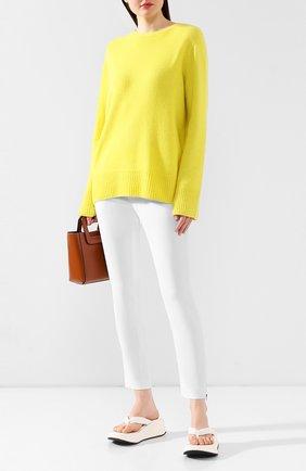 Женские брюки STELLA MCCARTNEY белого цвета, арт. 358300/SCA06 | Фото 2