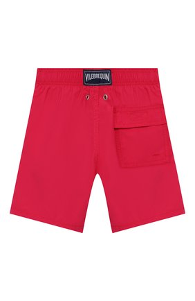 Детские плавки-шорты VILEBREQUIN красного цвета, арт. JIME9D03 | Фото 2