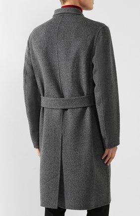Пальто из смеси шерсти и кашемира | Фото №4