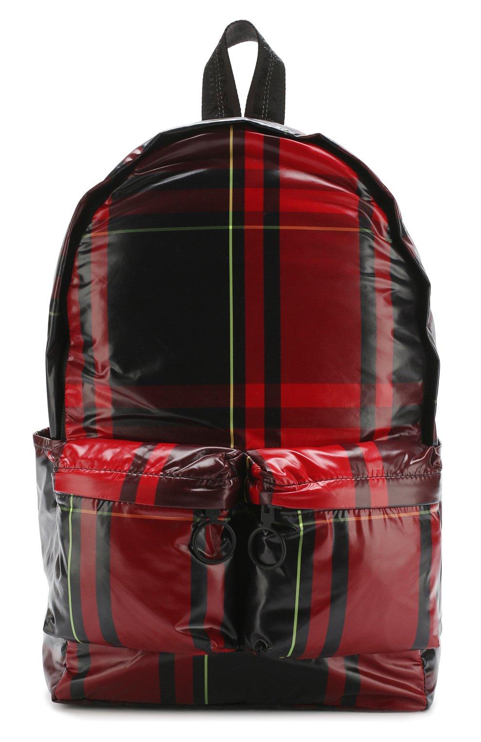 a63a39bb65a9 Мужской красный текстильный рюкзак OFF-WHITE — купить за 45700 руб ...