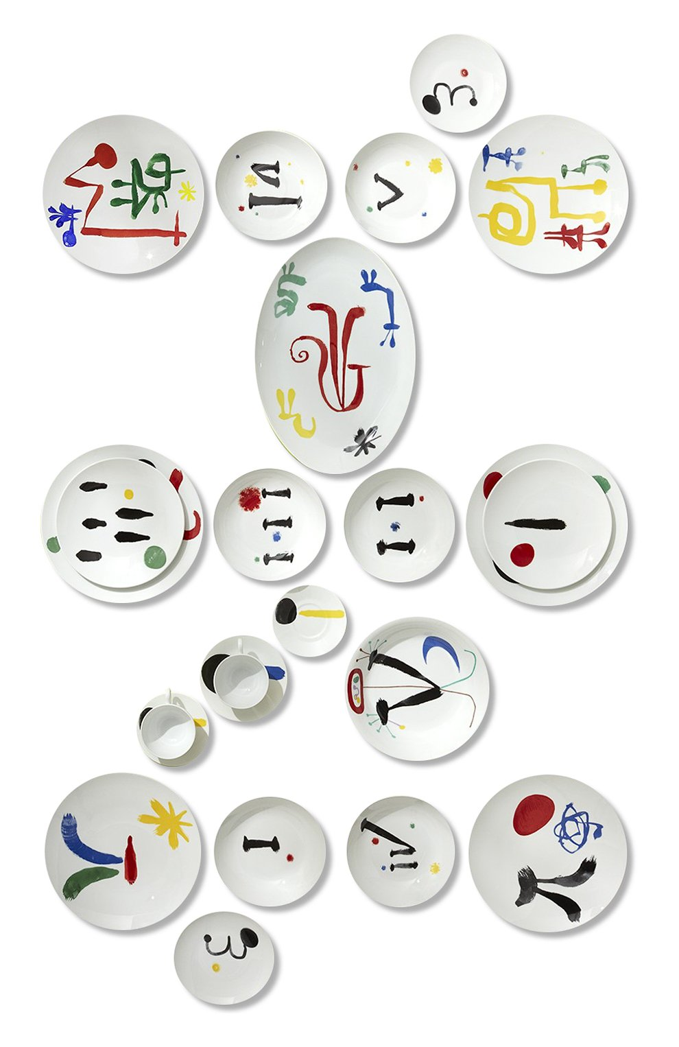 Сервиз из 100 предметов на 12 персон Parler Seul Bernardaud  | Фото №1