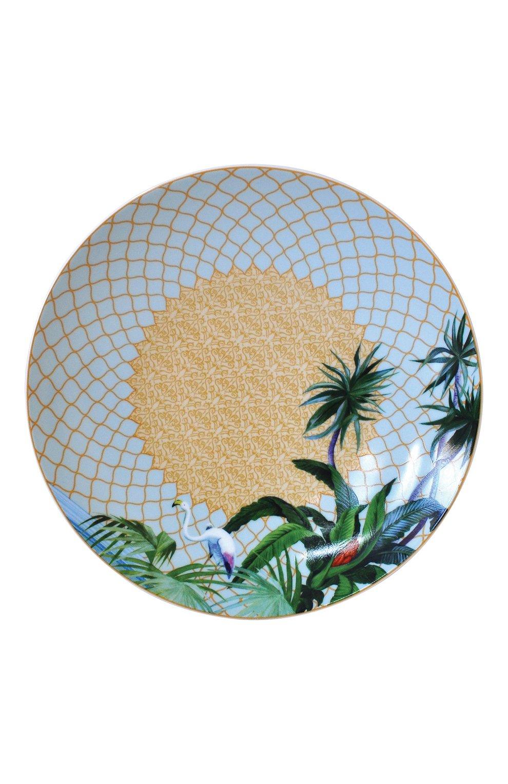 Салатная тарелка Tropiques Bernardaud    Фото №1