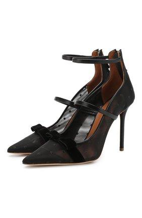 Текстильные туфли Monica Luwolt  | Фото №1