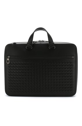 Кожаный портфель с плечевым ремнем | Фото №1