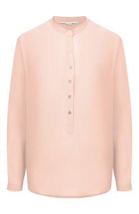 Женская шелковая блузка STELLA MCCARTNEY светло-розового цвета, арт. 531885/SY206 | Фото 1