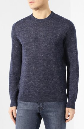 Пуловер из кашемира и шелка | Фото №3