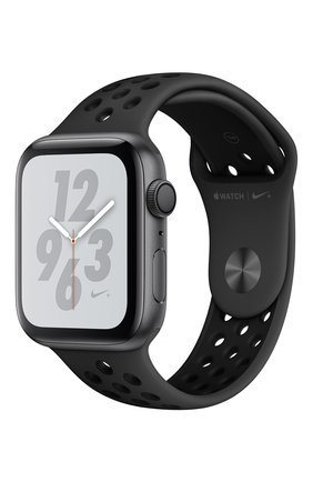Apple Watch Nike+ Series 4 GPS 44mm Space Gray Aluminium Case with Anthracite/Black Nike Sport Band | Фото №1