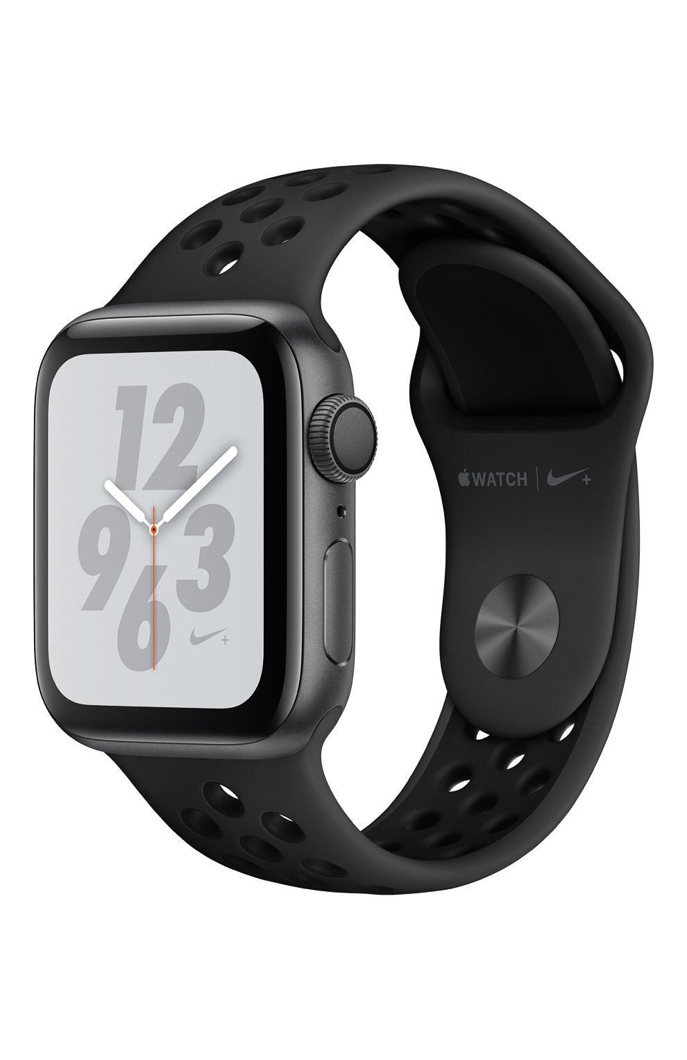 Apple Watch Nike+ Series 4 GPS 40mm Space Gray Aluminium Case with Anthracite/Black Nike Sport Band | Фото №1