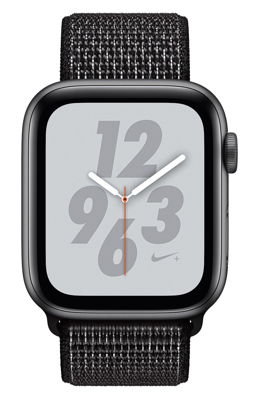 AppleWatch Nike+ Series4 GPS 44mm Space Gray Aluminium Case with Black Nike Sport Loop Apple  | Фото №2