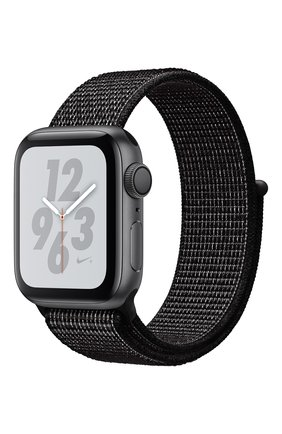 Смарт-часы Apple Watch Nike+ Series 4 GPS 40mm Space Gray Aluminium Case with Black Nike Sport Loop | Фото №1
