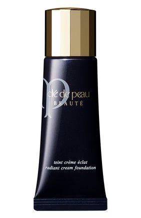 Женское тональное средство с эффектом естественного сияния, оттенок o40 CLÉ DE PEAU BEAUTÉ бесцветного цвета, арт. 11982CP | Фото 1