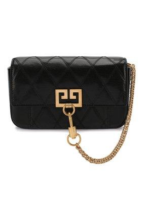 Женская поясная сумка pocket GIVENCHY черного цвета, арт. BB604DB08Z | Фото 1