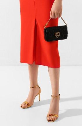 Женская поясная сумка pocket GIVENCHY черного цвета, арт. BB604DB08Z | Фото 2