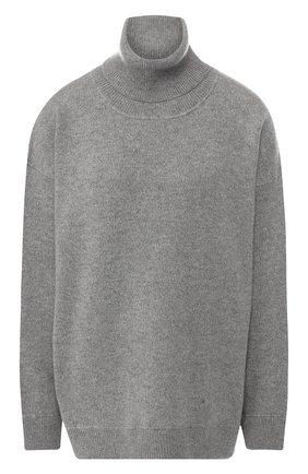 Женский кашемировый свитер DOLCE & GABBANA светло-серого цвета, арт. I613KW/JAWMS | Фото 1
