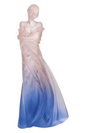 Мужского скульптура l'hiver en soi DAUM голубого цвета, арт. 05354   Фото 1