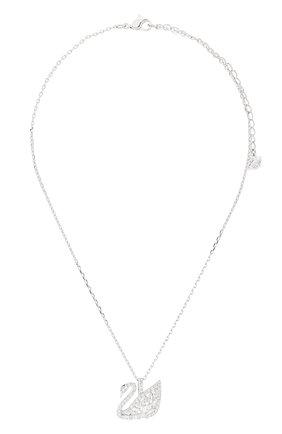 Женская подвеска swan SWAROVSKI серебряного цвета, арт. 5296469 | Фото 1