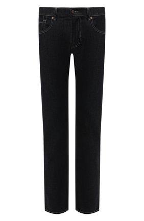 Мужские джинсы прямого кроя 7 FOR ALL MANKIND темно-синего цвета, арт. JSSCU250QZ | Фото 1