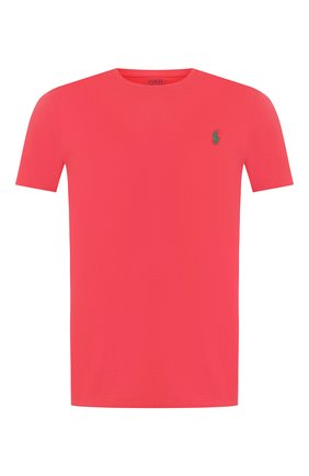 Мужская хлопковая футболка  POLO RALPH LAUREN красного цвета, арт. 710671438 | Фото 1