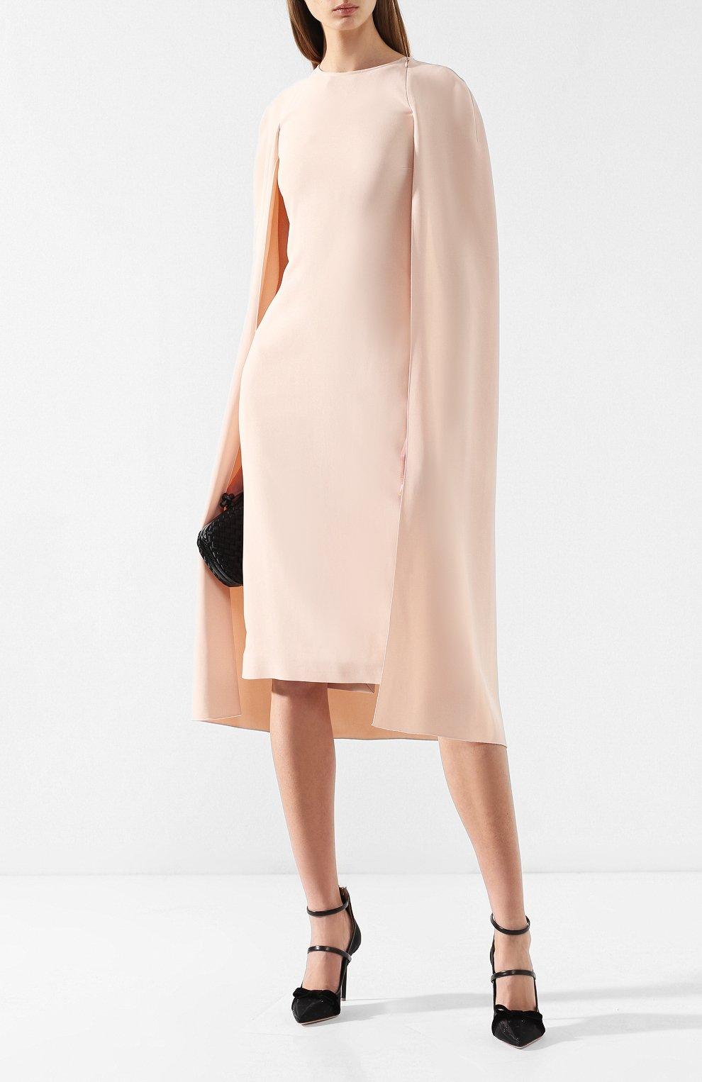 Платье из вискозы Stella McCartney розовое   Фото №2
