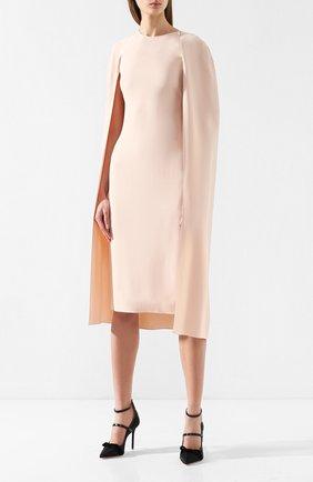 Платье из вискозы Stella McCartney розовое   Фото №3