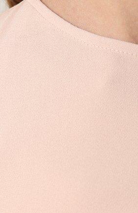 Платье из вискозы Stella McCartney розовое   Фото №5