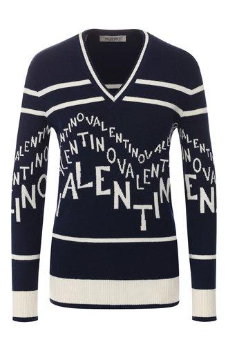 Пуловер из смеси шерсти и кашемира