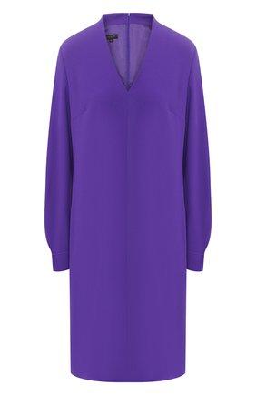Платье c V-образным вырезом | Фото №1