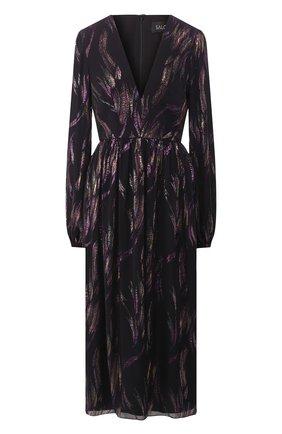 Шелковое платье-миди | Фото №1