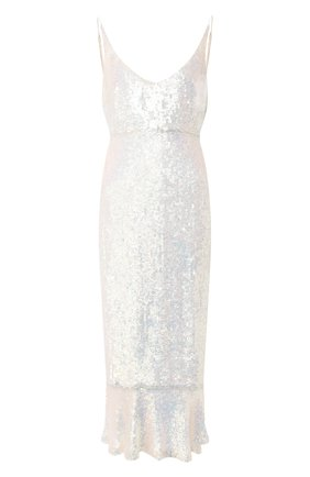 Платье-миди с пайетками | Фото №1