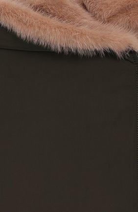 Двустороннее пальто с мехом | Фото №3