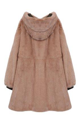 Двустороннее пальто с мехом | Фото №5
