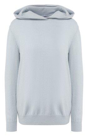 Кашемировый пуловер с капюшоном | Фото №1