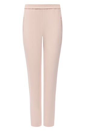 Женские брюки STELLA MCCARTNEY розового цвета, арт. 358300/SCA06 | Фото 1 (Материал внешний: Синтетический материал, Вискоза; Статус проверки: Проверено, Проверена категория; Женское Кросс-КТ: Брюки-одежда; Длина (брюки, джинсы): Укороченные)