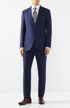Мужской шерстяной костюм ERMENEGILDO ZEGNA синего цвета, арт. 522025/221225 | Фото 1
