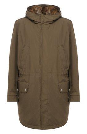 Куртка с внутренней меховой отделкой   Фото №1