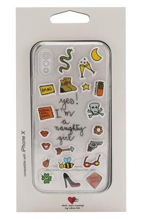 Чехол для iPhone X с аппликациями | Фото №1