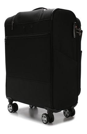 Женский дорожный чемодан uno soft deluxe RONCATO черного цвета, арт. 40467301 | Фото 2