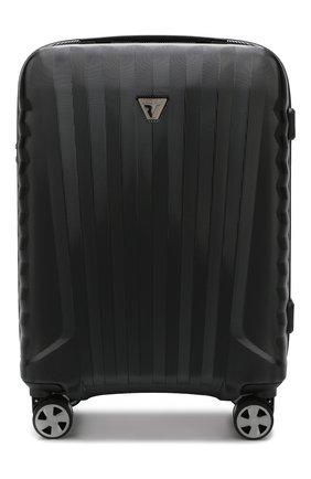 Женский дорожный чемодан premium 2.0 RONCATO черного цвета, арт. 54630101 | Фото 1