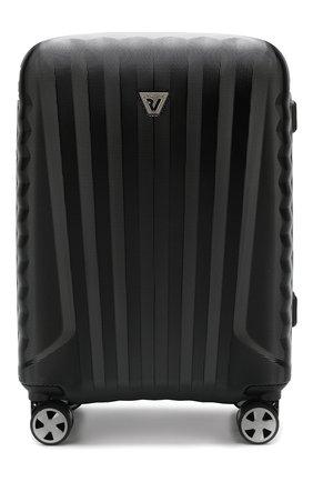 Женский дорожный чемодан premium 2.0 RONCATO черного цвета, арт. 54640101 | Фото 1