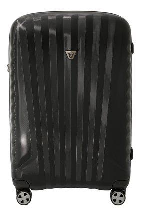 Женский дорожный чемодан premium 2.0 RONCATO черного цвета, арт. 54650101 | Фото 1