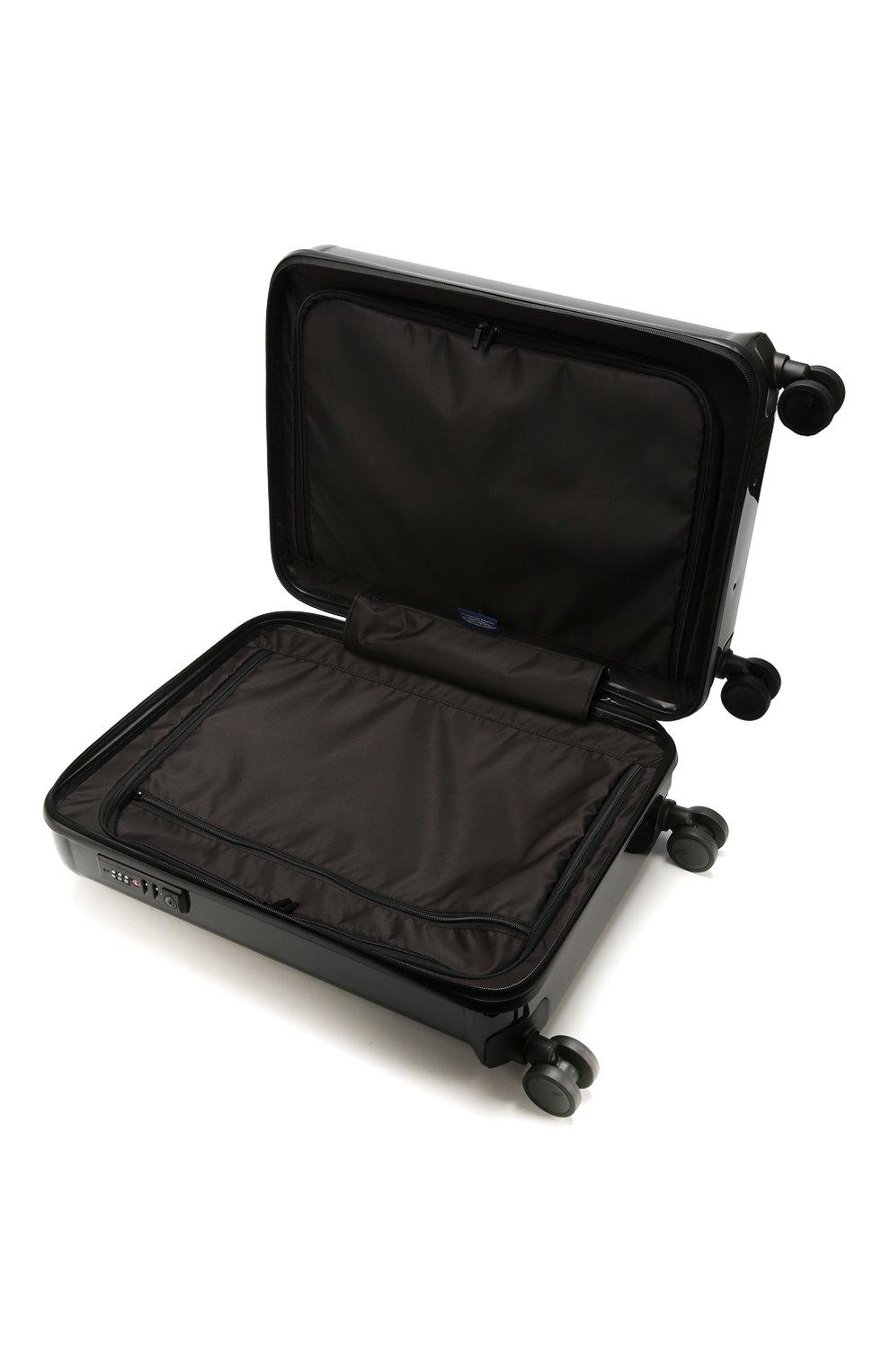 Женский дорожный чемодан capri  BRIC`S черного цвета, арт. BRK08027   Фото 3