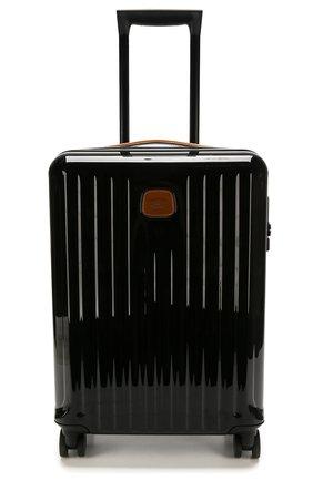 Женский дорожный чемодан capri  BRIC`S черного цвета, арт. BRK08027   Фото 4