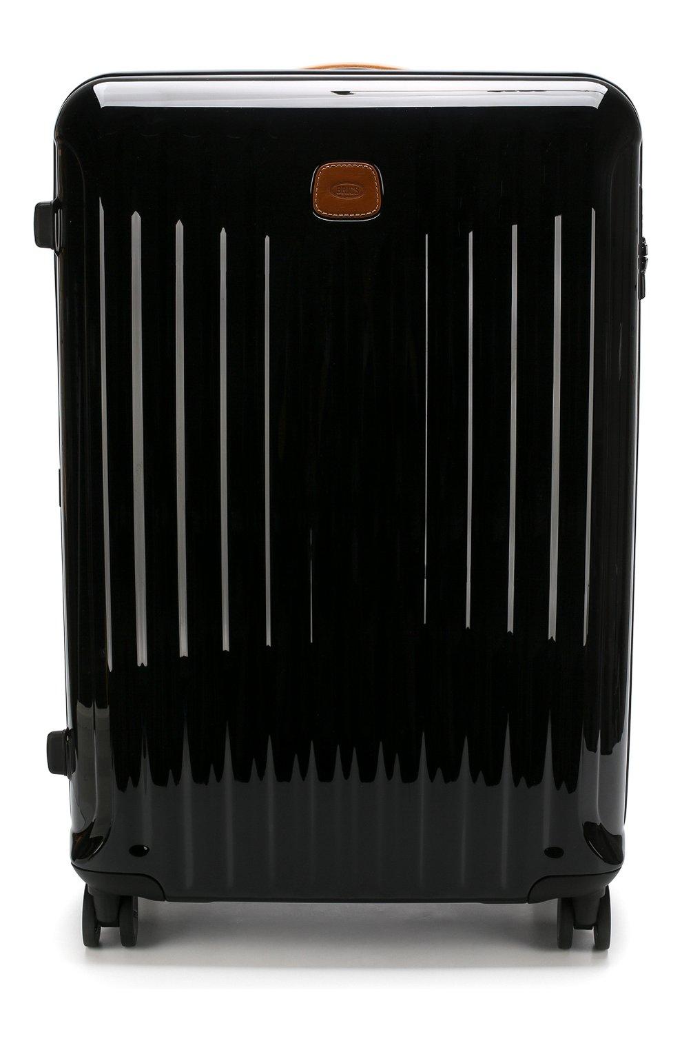 Женский дорожный чемодан capri  BRIC`S черного цвета, арт. BRK08032 | Фото 1