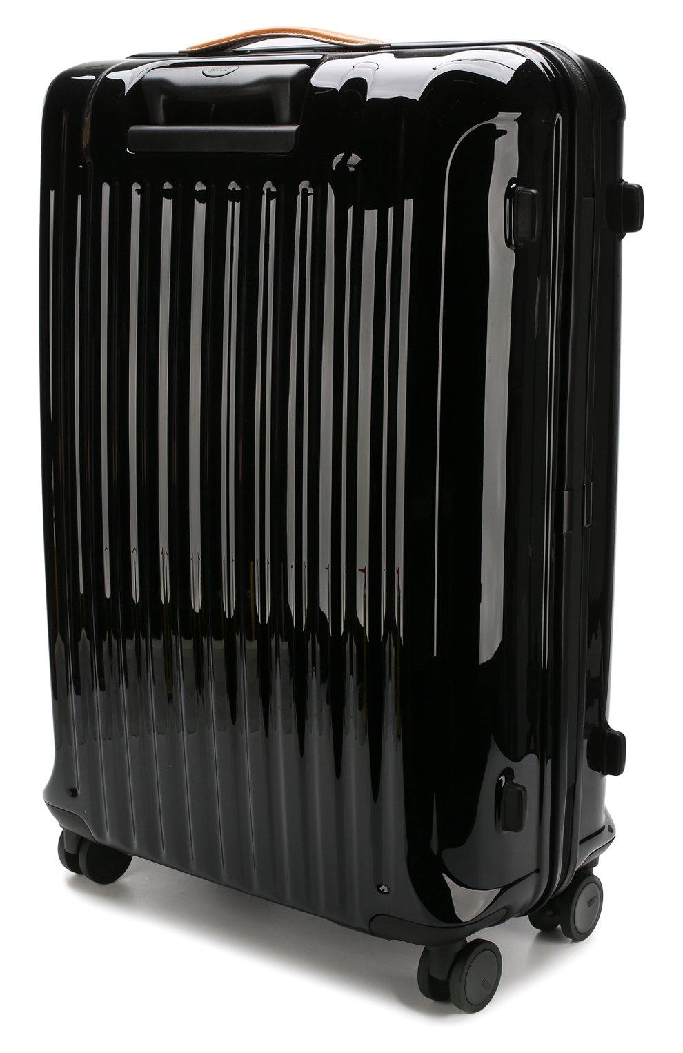 Женский дорожный чемодан capri  BRIC`S черного цвета, арт. BRK08032 | Фото 2
